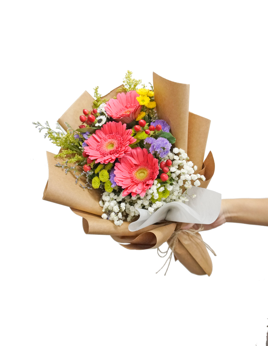 Gerbera Daisy Bouquet Same Day Delivery Flowers And Kisses