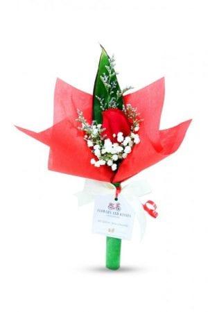 single stalk rose