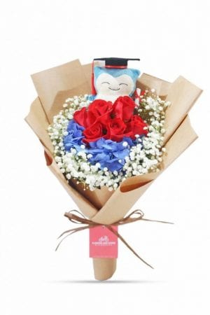 premium graduation bouquet