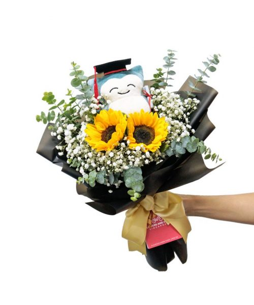 snorlax-graduation-bouquet-2